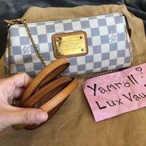 Authentic Louis Vuitton Eva Azur